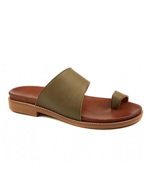 Γυναικείο παπούτσι flat Commanchero 5599-7213 ΛΑΔΙ